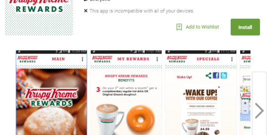 Krispy Kreme Rewards UK