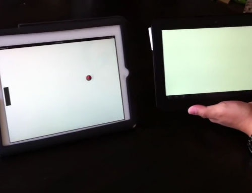 Multiplatform Pong (iOS, Android)