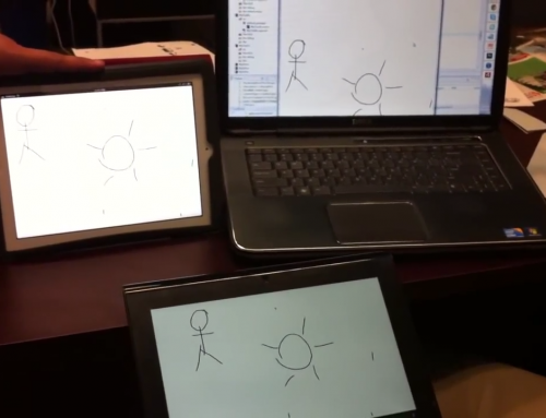 Collaborative Whiteboard (Android, iOS)